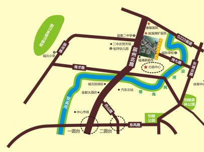怀化城南片区规划图